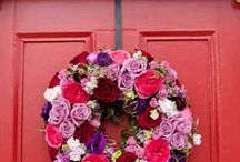 Wreaths / Beautiful wreaths to admire and inspire