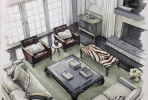 Interior Design | Sketches