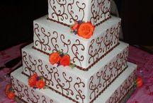 wedding cakes / by Vanessa Smith