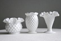 Milk Glass Decorating / by Cindy Ligon