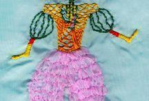 "Katya Sanna Art ""Embroidery"" / ArtsBroderie - Pop Embroidery by Katya Sanna https://www.facebook.com/ArtsBroderie - Info + links + ebook free download http://www.katyasanna.it/rudra.htm KATYA SANNA http://www.katyasanna.it"