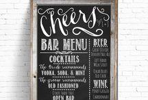 Wedding Chalk Board Ideas