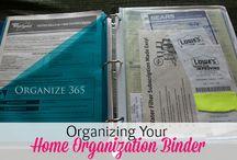 Home Organizing Binders