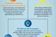 SEO WordPress / Infografías sobre SEO en WordPress que te ayudarán a mejorar tu posicionamiento web.