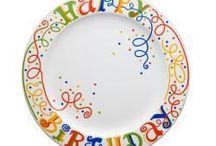 Birthday pottery