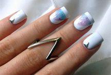 Nail Art  / Cool Tumblr nail art designs.