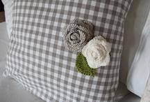 Crochet roses & flowers