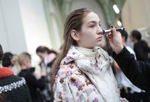 Fall Makeup Trends / The best of beauty from Fall fashion shows.