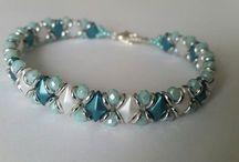 Armband med beads