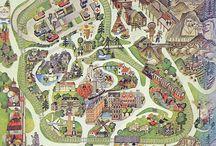 地図・道・街