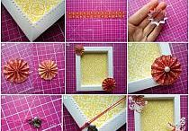 Bastelarbeiten aus Papier und Pappe