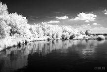 Infrared Photography / V poslednom čase sa mi začal páčiť obraz realizovaný cez IR filter. Je to svet mimo nás. Niečo ako fotky na film. Výsledok vidíte až po spracovaní záberu!