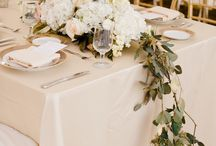 Reception Table Settings