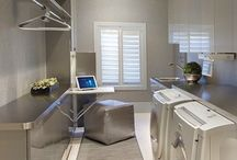 Home: Laundry Room / by Christina Goering