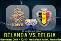 Prediksi Belanda vs Belgia