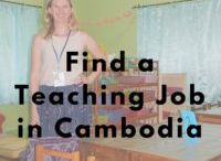 Working abroad / How to find work around the world