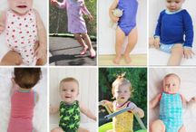 SEWING 4 BABY! FLOSSTYLE PDF PATTERNS / Sew many sewing patterns from Flosstyle for baby!