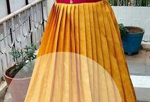 South Indian pattu long chudidars