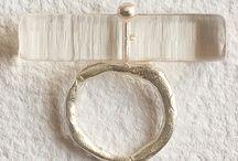 RMX Art Recycling - JEWELRY / jewelry, plexiglas, silver