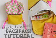 Diy backpack / Cute and easy