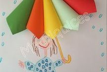 ombrello di carta