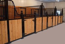 horse stalls that we built / stalls that we have built