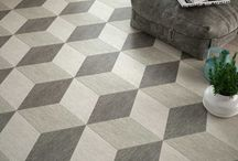 Patterns! Tile! Design! Oh My! / Tile doesn't have to be boring. Patterns add style and uniqueness to any home design.