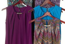 Royal Hues / Stylish plums, violets and blues are perfect pops of color for the season! http://bit.ly/1lO7aWa #FallFashion