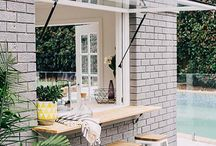 Outdoor inspiration / Innovative, outdoor living spaces and commercial walls that inspire the MWS team