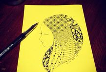 Zentangle / Zentangle whom I drew