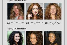 Cabelos / Tipos de corte, penteados e cuidados