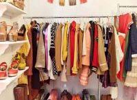 The Best Closet Organizerss / You can find ideas for closet organization for any size closet here! Big closets, Walk-in closets, small closets and tiny closets! Get that mess under control! #closets #closetorganizer