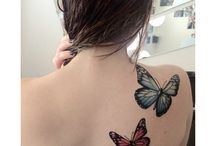 tatoos borboletas