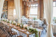 Rustic barn weddings receptions