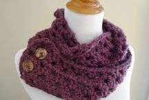 Crochet neckwarmers