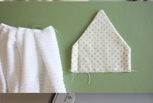 Hand towel tutorial for Ross