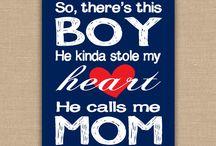 Inspiration for my babyboy Vincent.