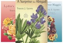 Tracey's books!