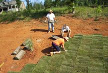 Sod Installation Greensboro North Carolina / The Turfgrass Sod Installation Process Installing sod is a 4-step process that includes site preparation, soil preparation, sod installation and watering. Whether you live in Greensboro, Winston-Salem or surrounding areas of NC, by following these 4 simple installation steps, you can have a beautiful, green turf grass lawn.