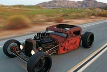 hot rods og rat rods