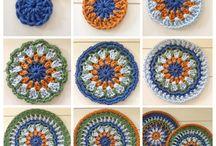 crochet. mandala tutorial