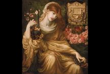 Art ~ Dante Gabriel Rossetti (1828-1882) British painter