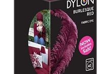 DYLON Taşlanmış Kırmızı - Burlesque Red - Fabric Dye With Salt