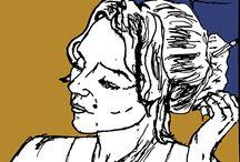 Comics Sketch by Ary Johanna and Akerman Csaba