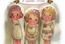 Muñecas tela