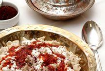 Turkish dishes and desserts (Türk yemekleri ve tatlıları)