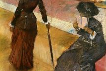 Paintings: Edgar Degas