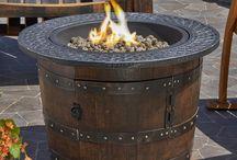 reclaimed whiskey barrel ideas
