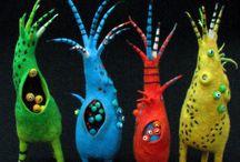 Fiber Art: Felt / For more fiber art content, join the FiberArtNow.net tribe.