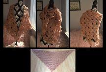 Omslagdoek en poncho / Gehaakte en gebreide omslagdoeken en poncho's